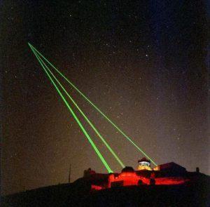 brightness of laser
