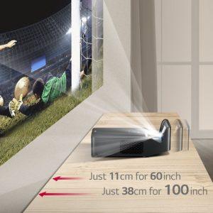 LG ultra short throw projector pf1000u-5