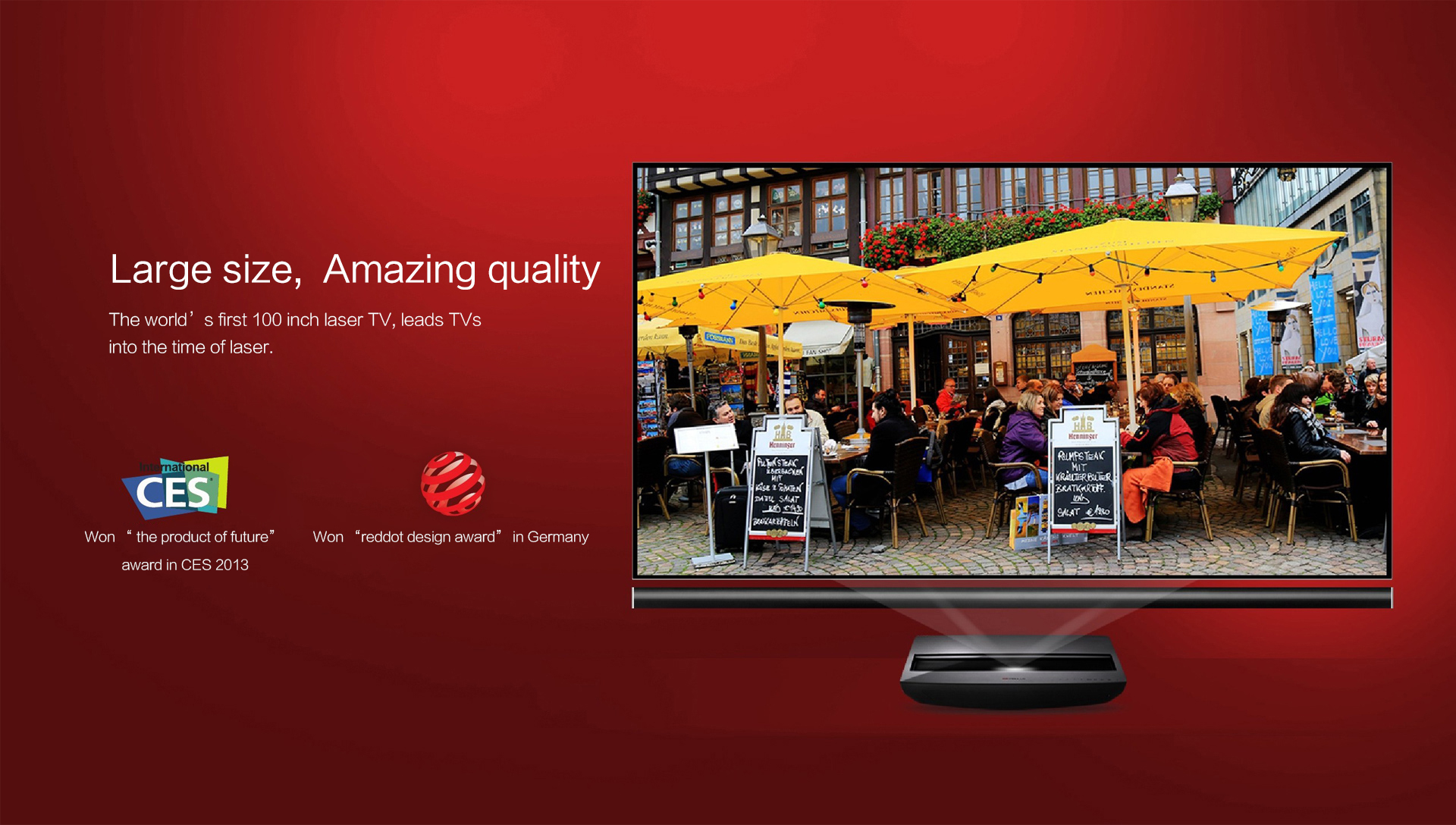 Appotronics Laser TV and LG Hecto TV