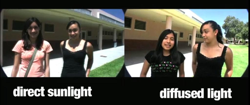 diffused light 1